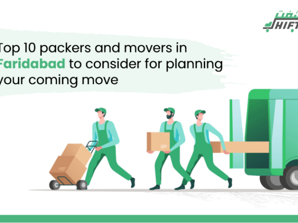 Top 10 packers and movers in Faridabad to consider for planning your coming move