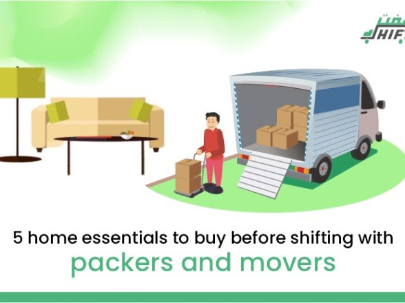5 Home Essentials To Buy Before Shifting With Packers and Movers