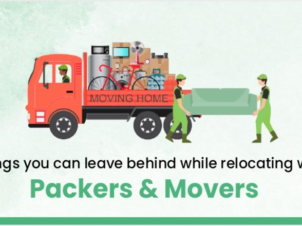 8 things you can leave behind while relocating with packers & movers.