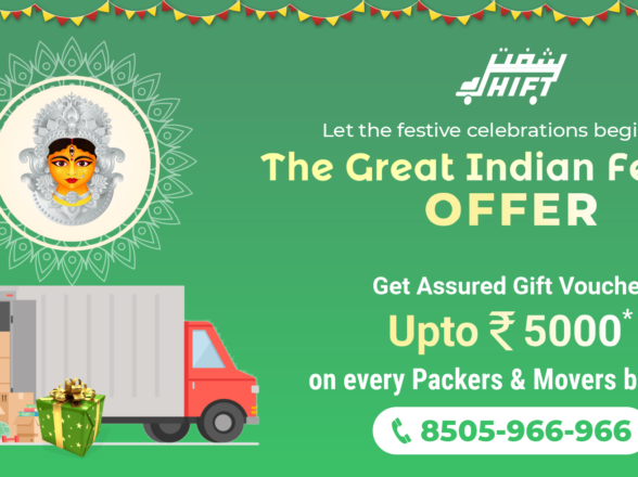 The Great Indian Festival Offer: Shift Freight Preps Up For The Season Of Spiritual Celebration & Festivity