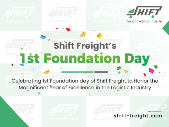 Celebrating 1st Foundation day of Shift Freight to Honor the Magnificent Year of Excellence in the Logistic Industry